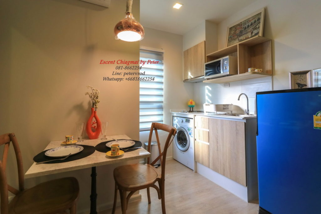 Escent Central Festival Ching Mai condo for rent chic 1 bedroom in chiang mai