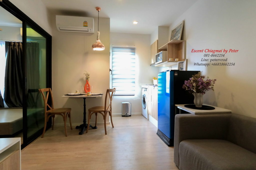 Escent Central Festival Ching Mai for rent chic 1 bedroom chiang mai