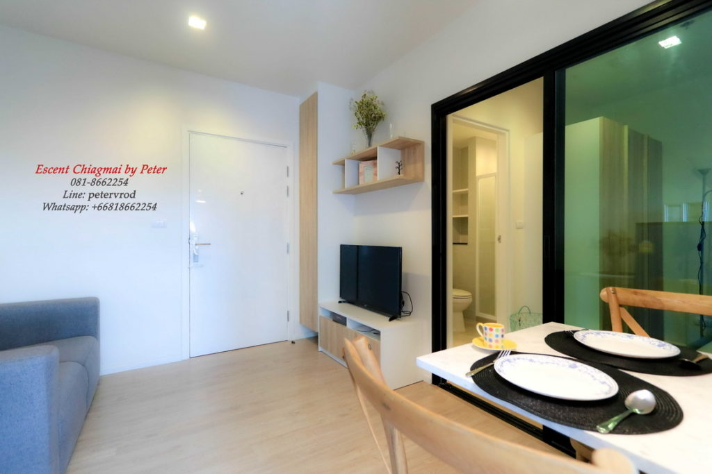 Escent Central Festival Ching Mai for rent Attractive 1 bedroom chiang mai