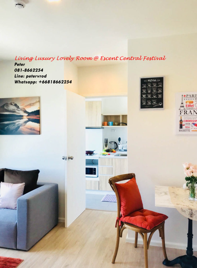 Escent Central Festival Ching Mai for rent fabulous 1 bedroom chiang mai