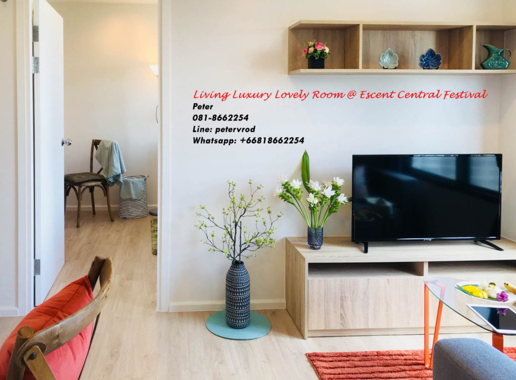 Escent Central Festival Ching Mai for sale fabulous 1 bedroom chiang mai