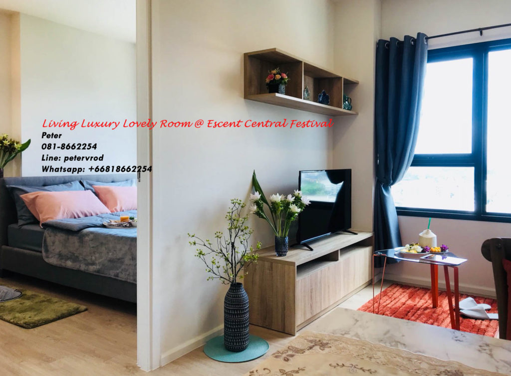 Escent Central Festival Ching Mai condo for rent fabulous 1 bedroom in chiang mai