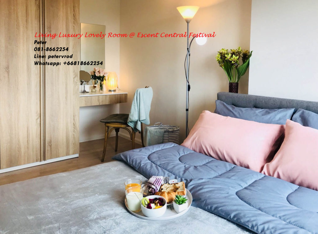 Escent Central Festival Ching Mai condo for sale fabulous 1 bedroom in chiang mai