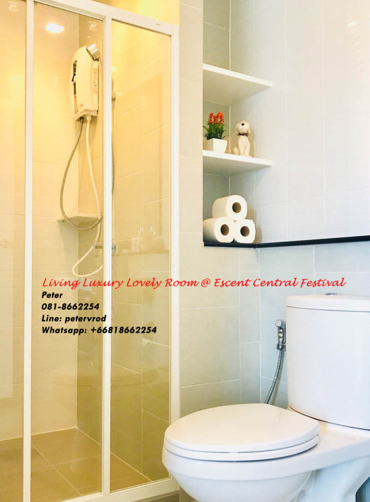 Escent Central Festival Ching Mai room for sale Beautiful 1 bedroom chiang mai