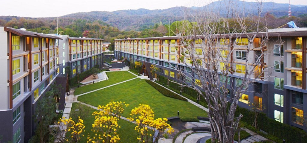 DCondo Campus Resort apartment for rentComfortably Furnished 1 bedroom at chiang mai