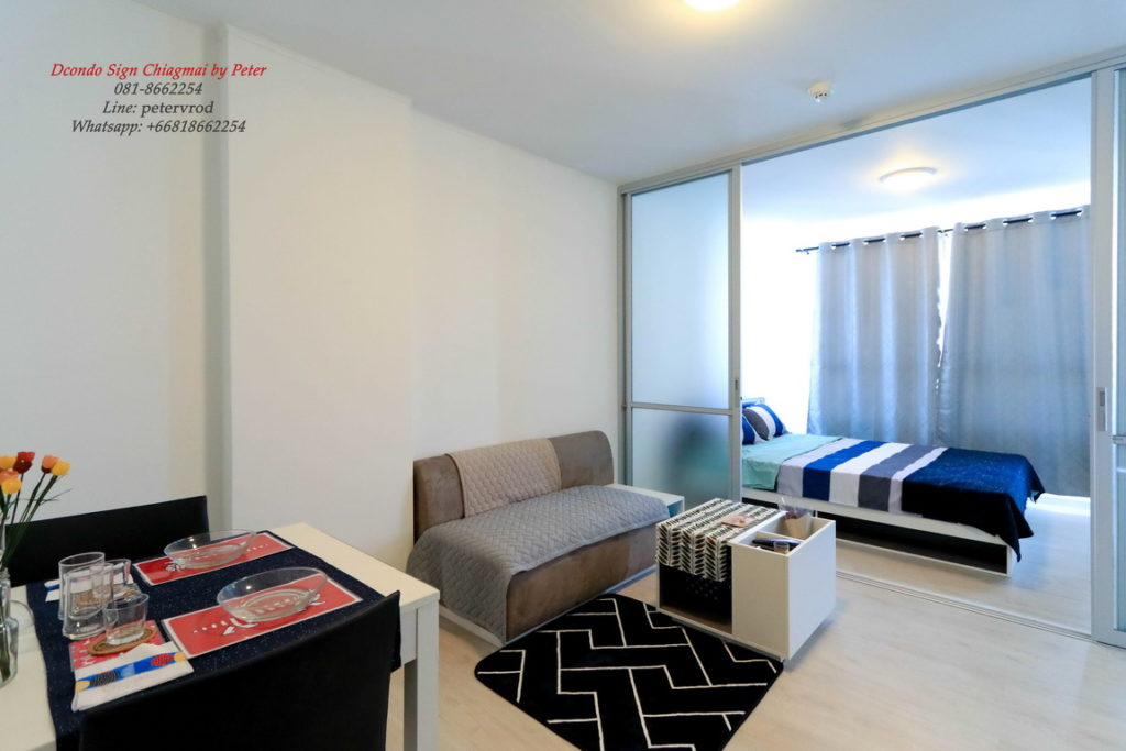 dcondo sign condo for rent Fully furnished one bedroom in chiang mai