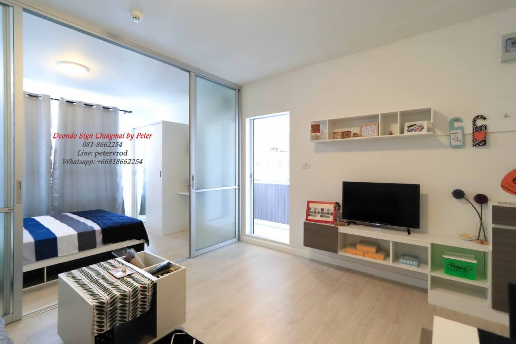 dcondo sign for sale Fully furnished one bedroom chiang mai