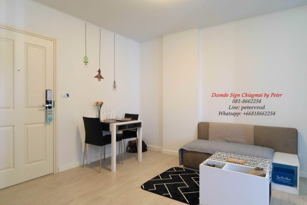 dcondo sign room for sale 1 Bedroom chiang mai