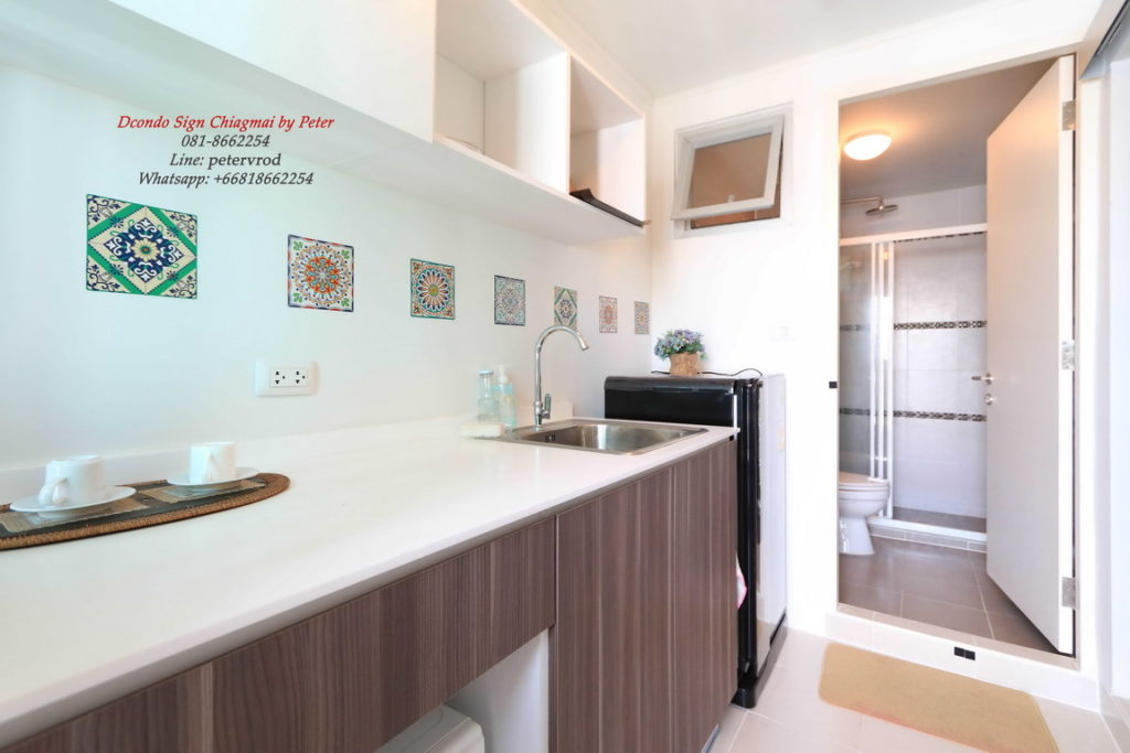 dcondo sign apartment for rent 1 Bedroom at chiang mai