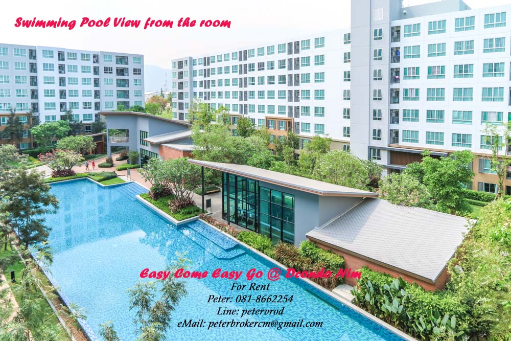 Fully Furnished & Equipped Chiang mai Condo Rental At D Condo Nim