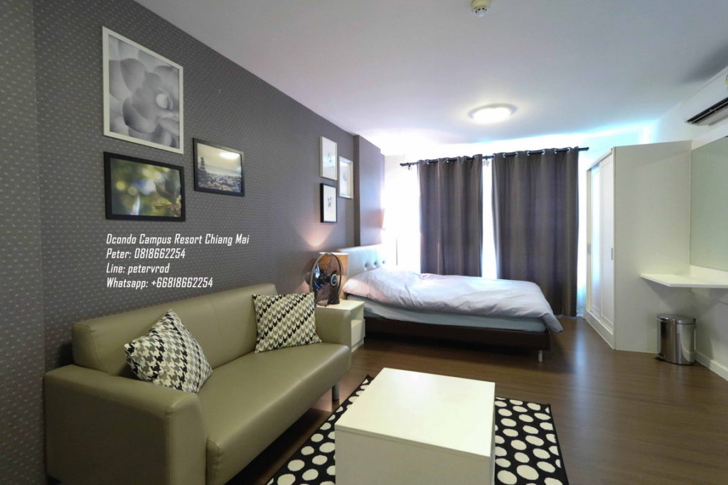 DCondo Campus Resort condo for saleComfortably Furnished 1 bedroom in chiang mai