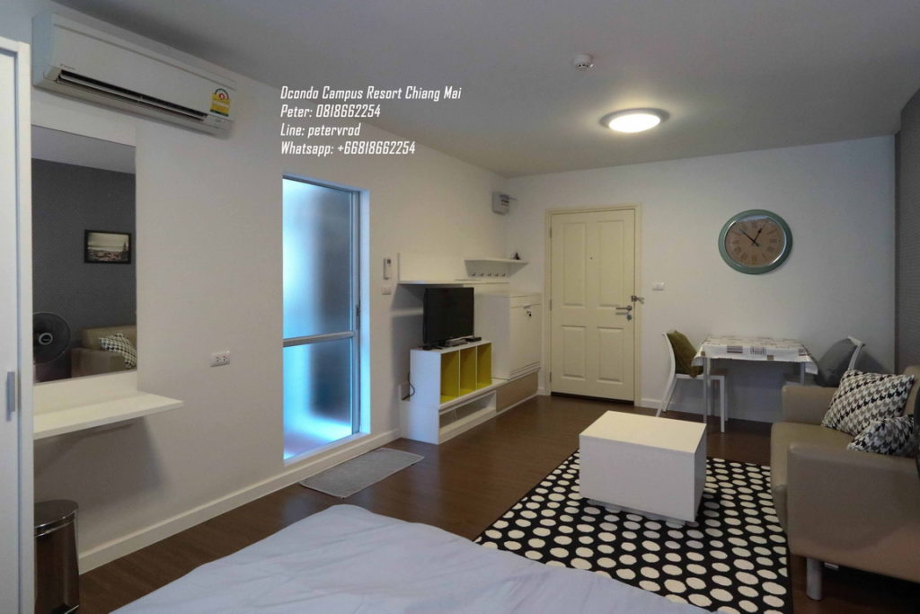 rental DCondo Campus Resort Affordable 1 bedroom chiang mai