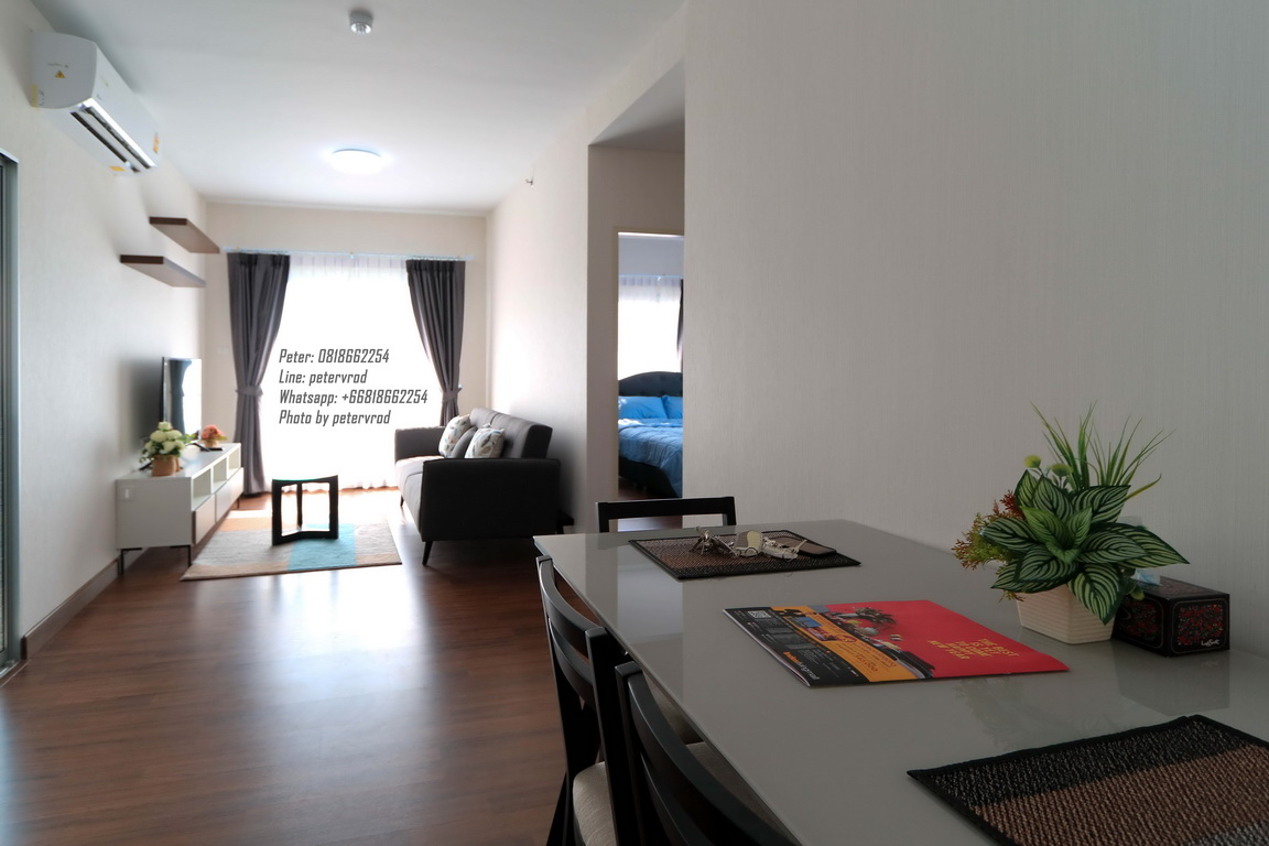 64 Sqm 25 th Supalai Monte 2 Condo Fully furnished Condo for Rent with Doisaket montain view