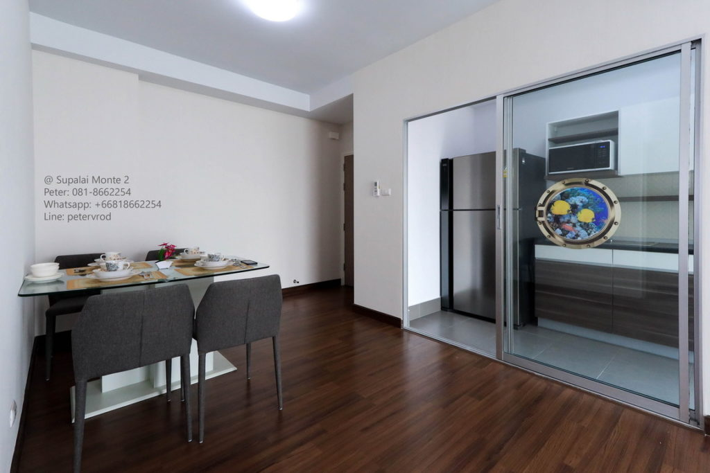 Supalai Monte @ Viang condo for sale fully furnished studio bedroom in chiang mai