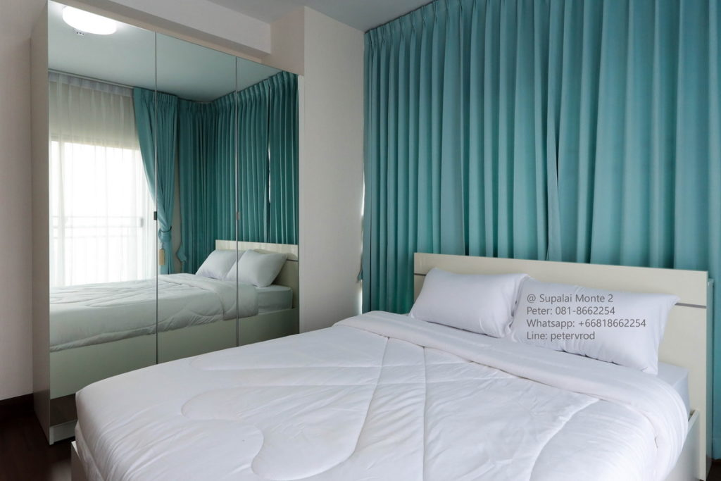 Supalai Monte @ Viang for rent fully furnished studio bedroom chiang mai