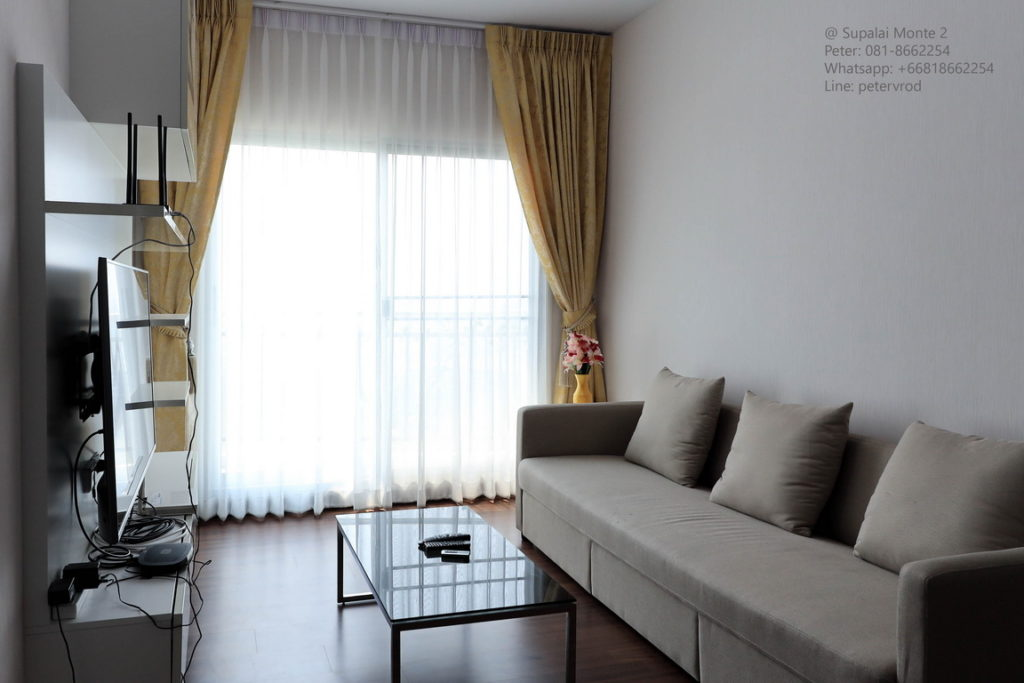 Supalai Monte @ Viang condo for rent fully furnished studio bedroom in chiang mai