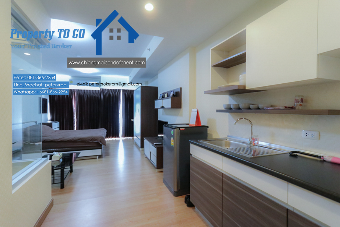 Sell Supalai Monte @ Viang , 1 Bedroom 33 Sqm Floor 9th 1.99 MB Condo for Sell