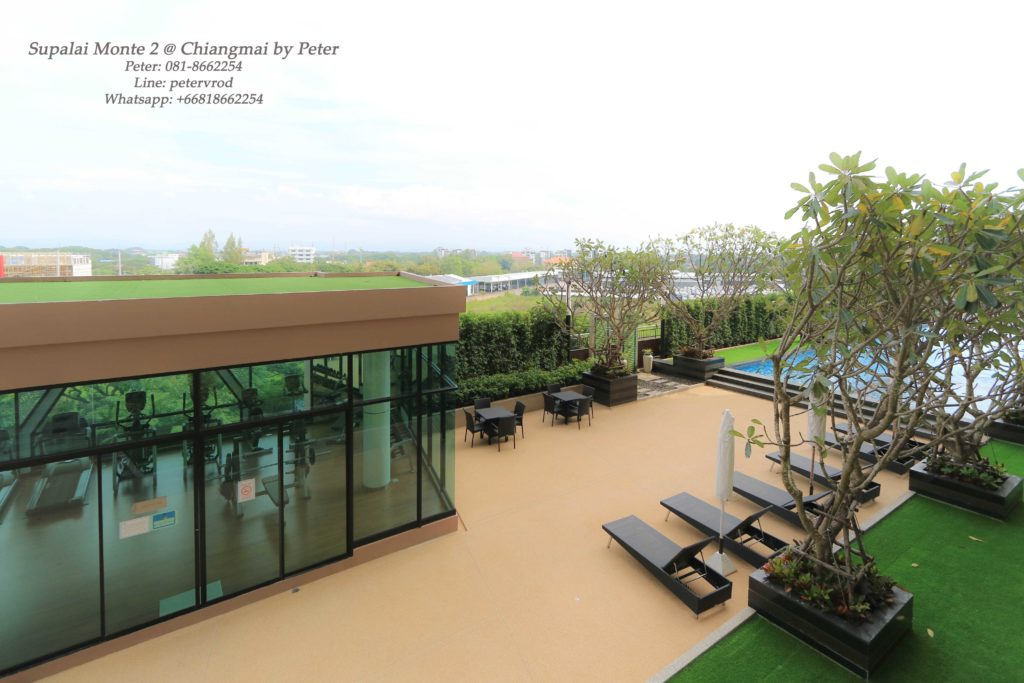 Supalai Monte II condo for sale fully furnished 1 bedroom in chiang mai