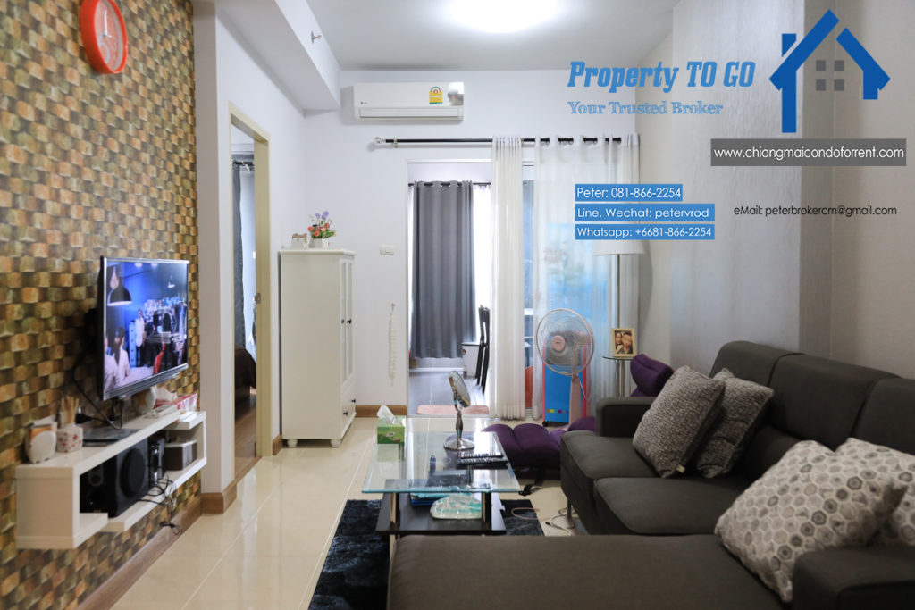Supalai Monte II room for rent Spacious 1 bedroom chiang mai