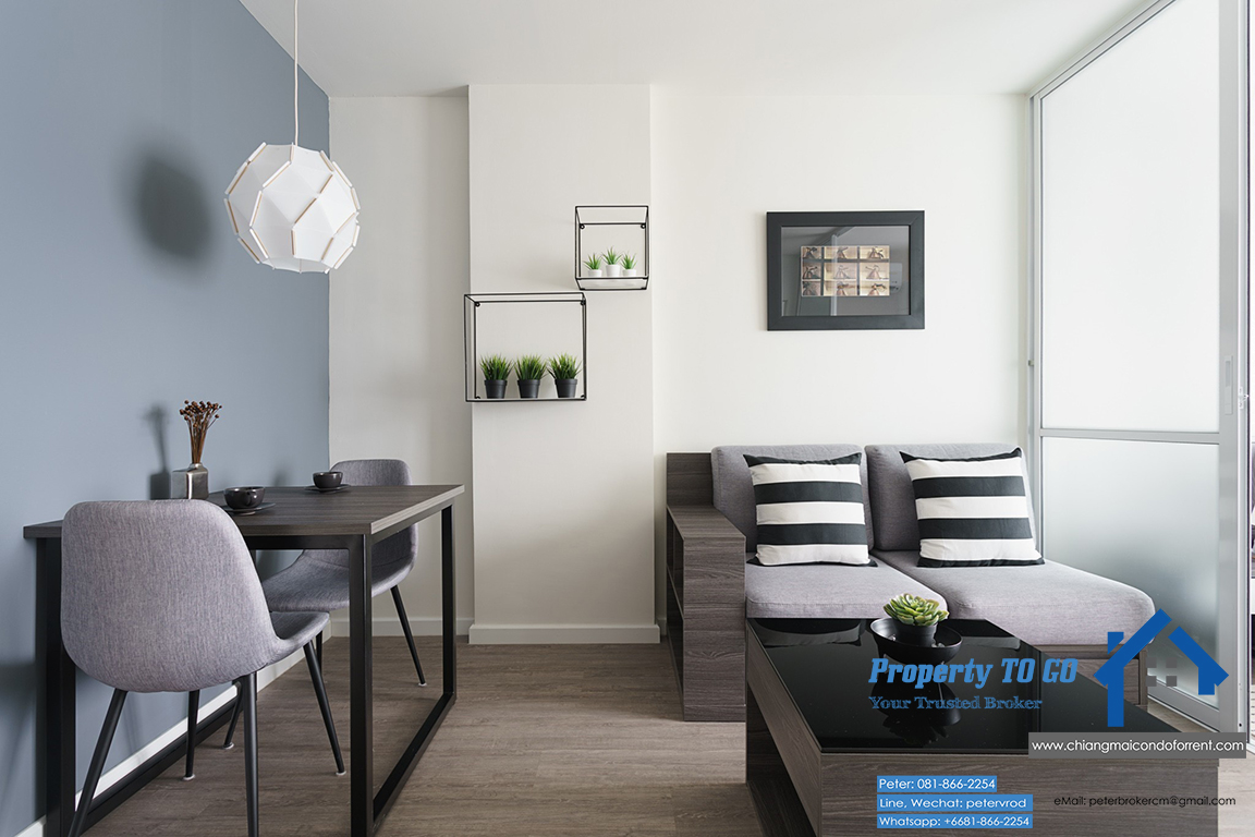 Dcondo Ping Condo for Sale 30 Sqm 4th Chic Fully Funish only 2.5 MB including transfer fee