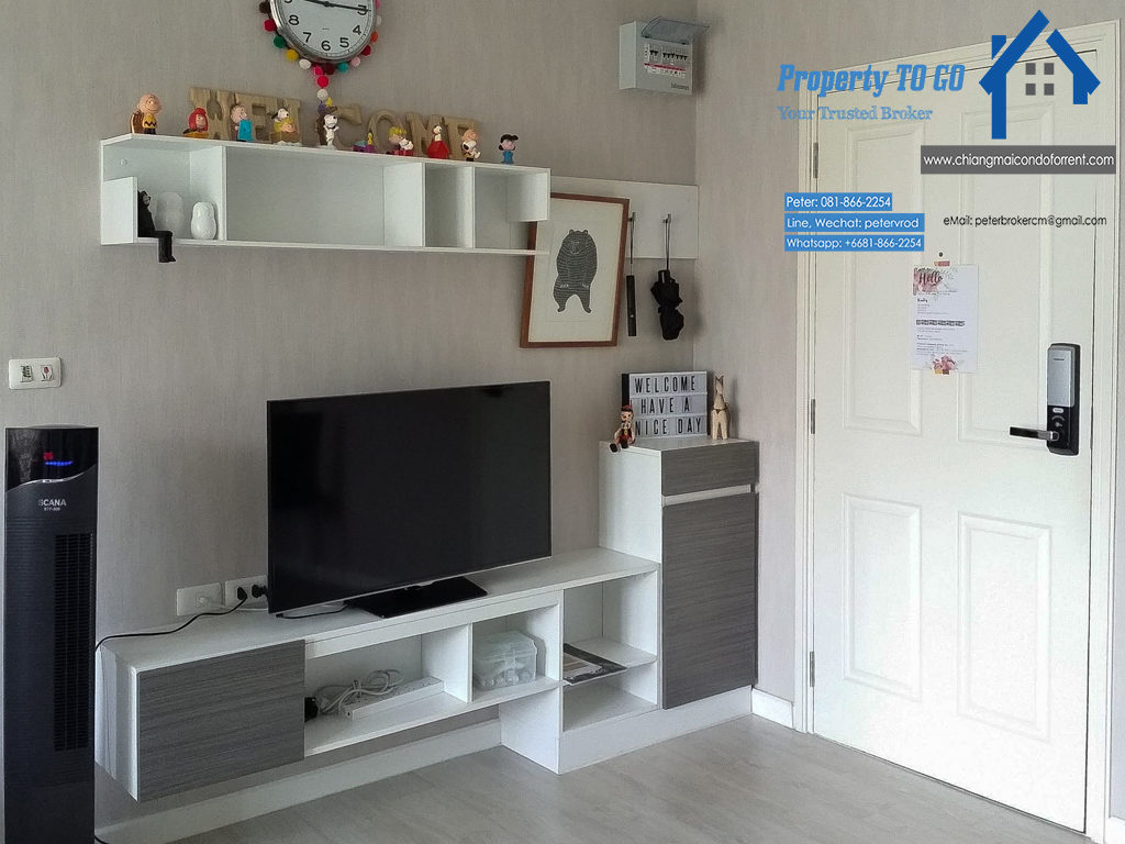 dcondo sign condo for rent Furnished 1 Bedroom in chiang mai