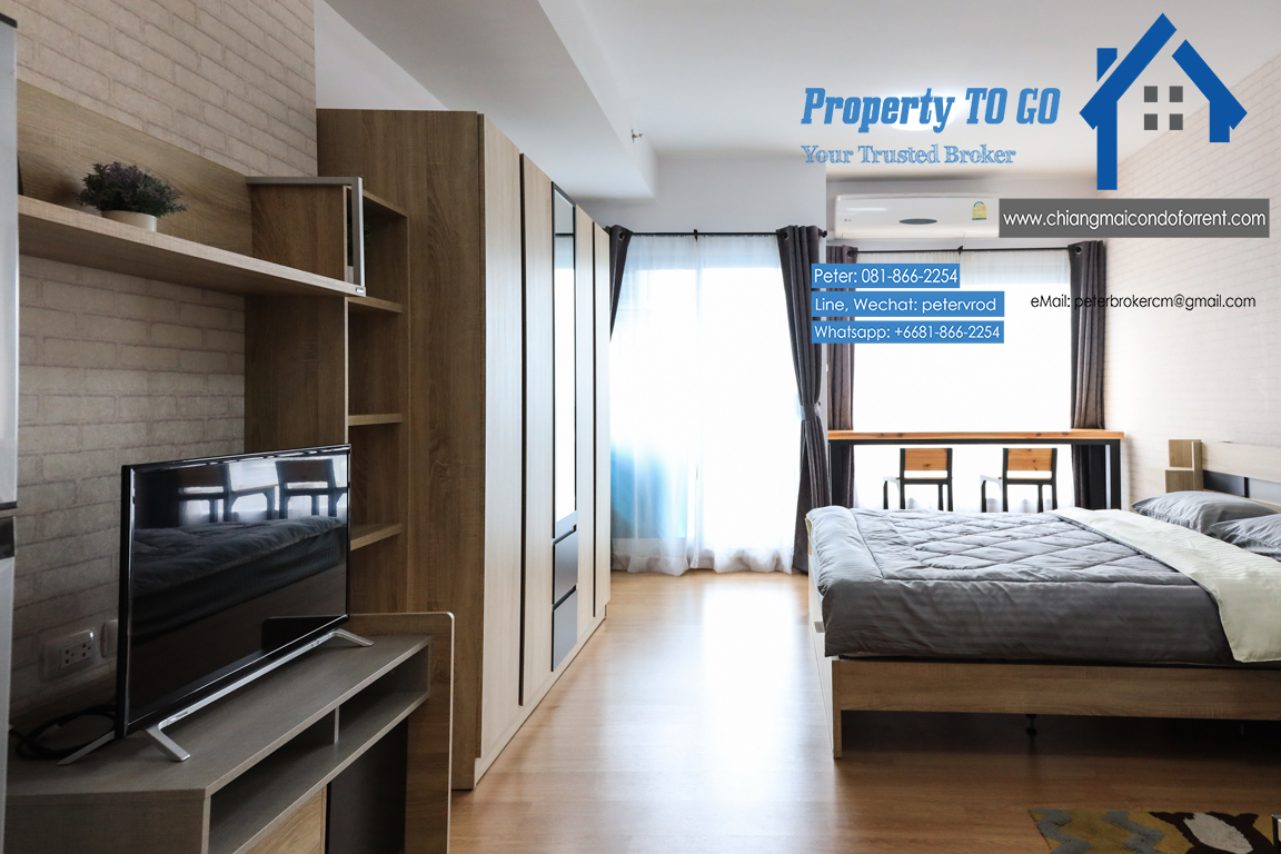 33 Sqm 15 th Supalai Monte 1 Condo Fully furnished Condo for Rent