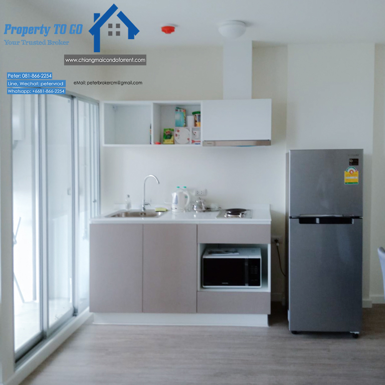 dcondo ping apartment for rent Stylish Living 1 bedroom at chiang mai