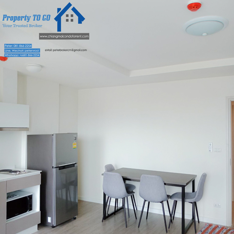 dcondo ping condo for rent Stylish Living 1 bedroom in chiang mai