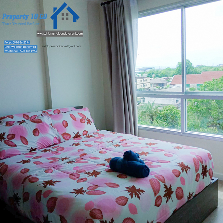 dcondo ping for rent Stylish Living 1 bedroom chiang mai