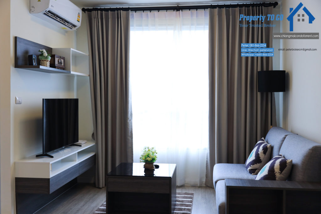 dcondo ping for sale Stylish Living 1 bedroom chiang mai