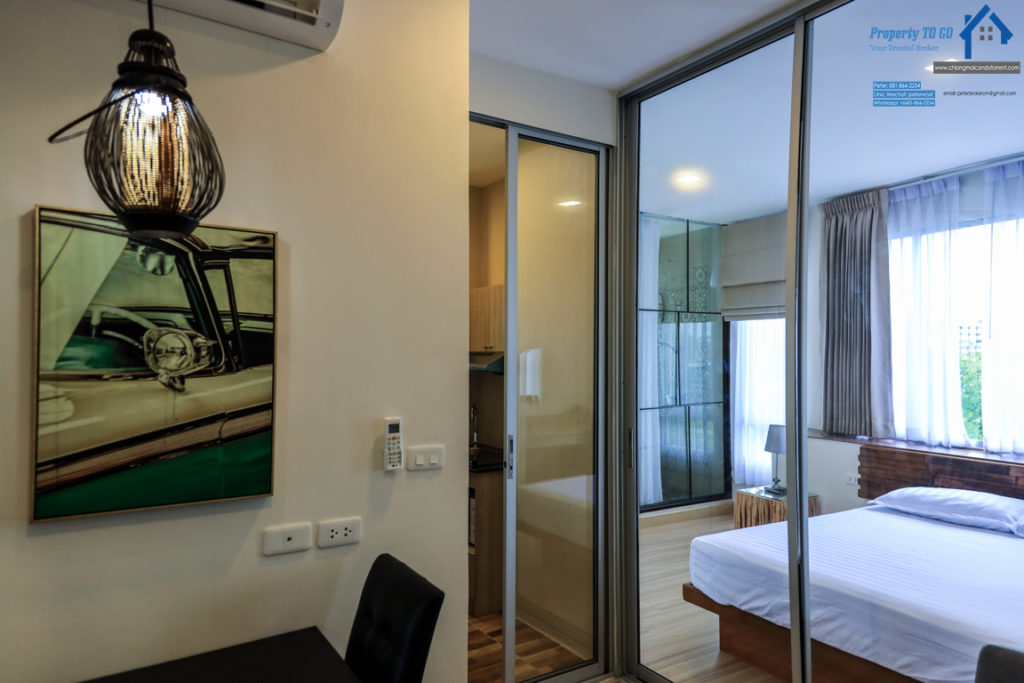 Tree Boutique for rent Nicely Furnished 1 bedroom chiang mai
