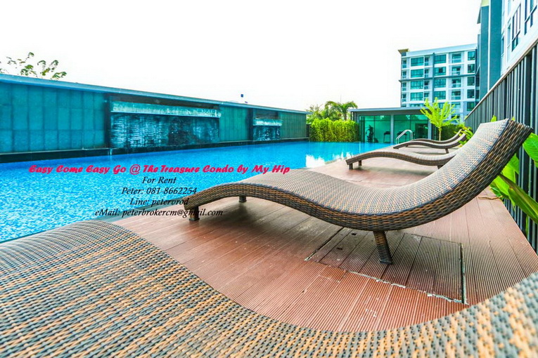 THE TREASURE By my Hip apartment for rent Excellen 1 bedroom at chiang mai