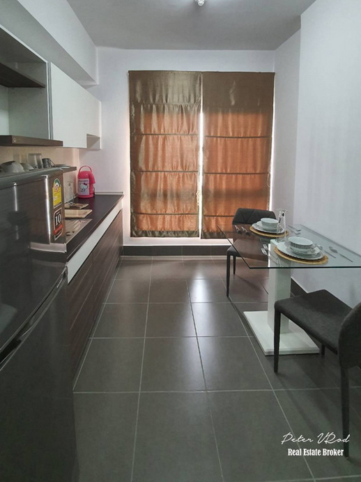 Mountain View Supalai Monte 2 46 Sqm 9th Fully furnished Condo for Rent