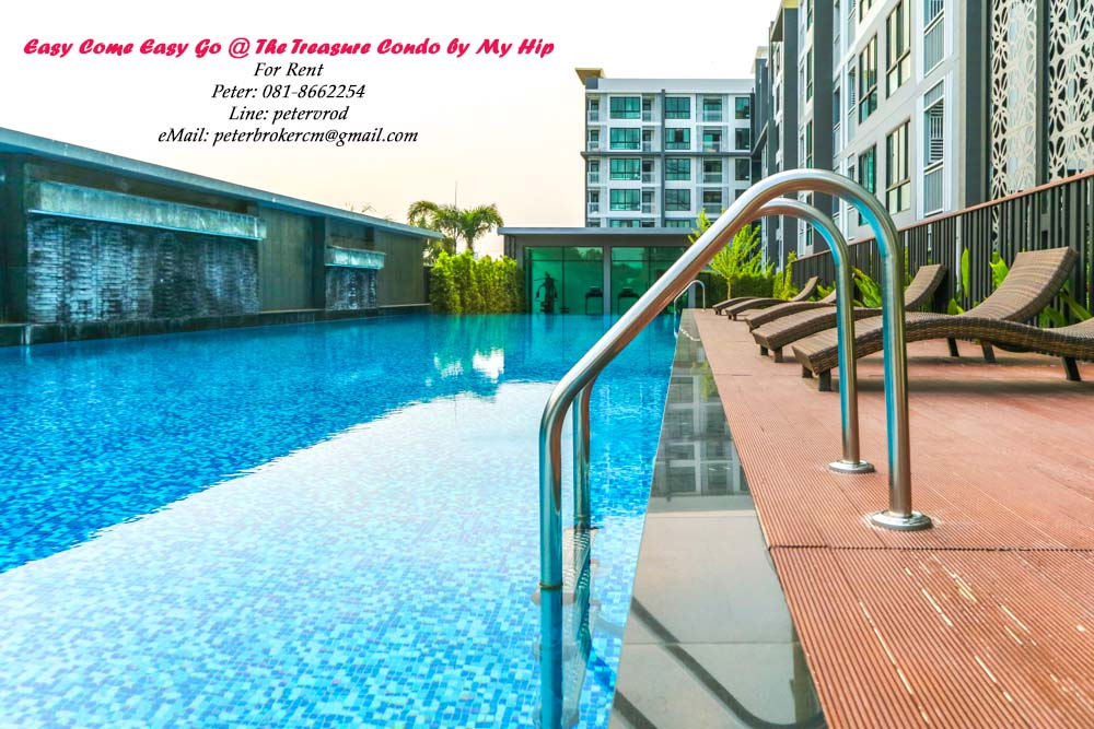 THE TREASURE By my Hip apartment for rent Nicely Furnished 1 bedroom at chiang mai