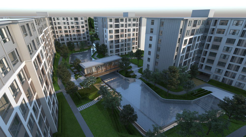 Dcondo Ping Condo for Rent 30 Sqm 4th floor near Central Festival Chiangmai