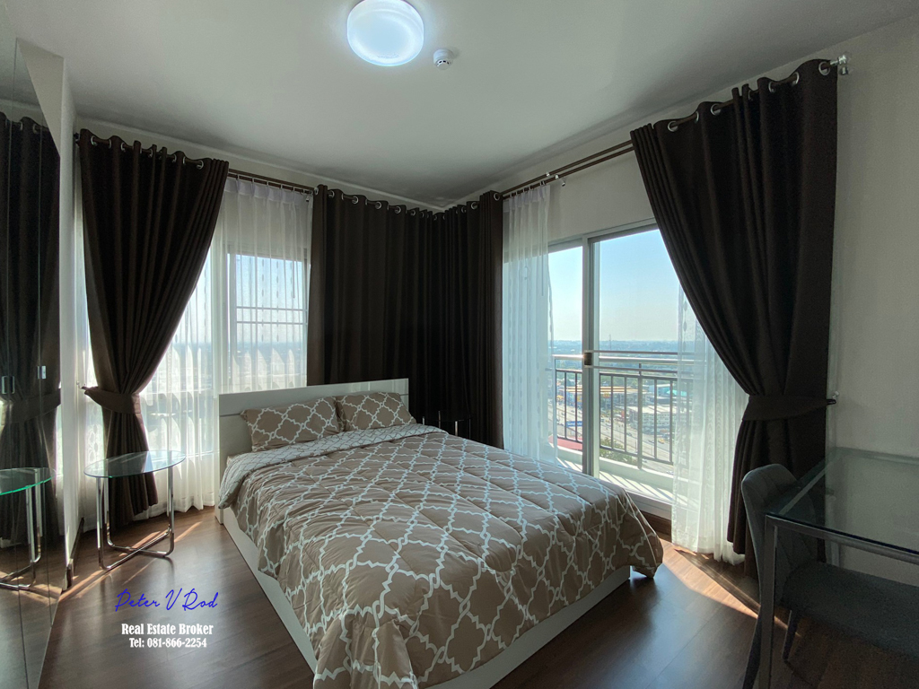 64 Sqm Floor 22 Supalai Monte 2 Condo Fully furnished